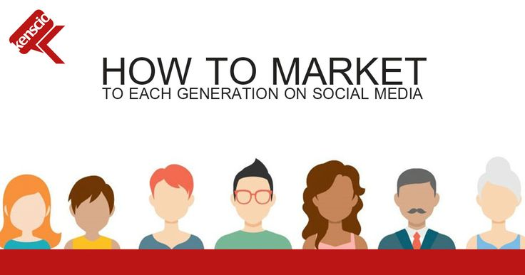 How to keep it cool for Millennials while keeping it real for Baby Boomers? Worry not!  Social Media Marketing to each Generation group explained. Read now: https://blog.hubspot.com/marketing/social-media-generations#sm.001y35upd1018cyvzc41s8wr6je62