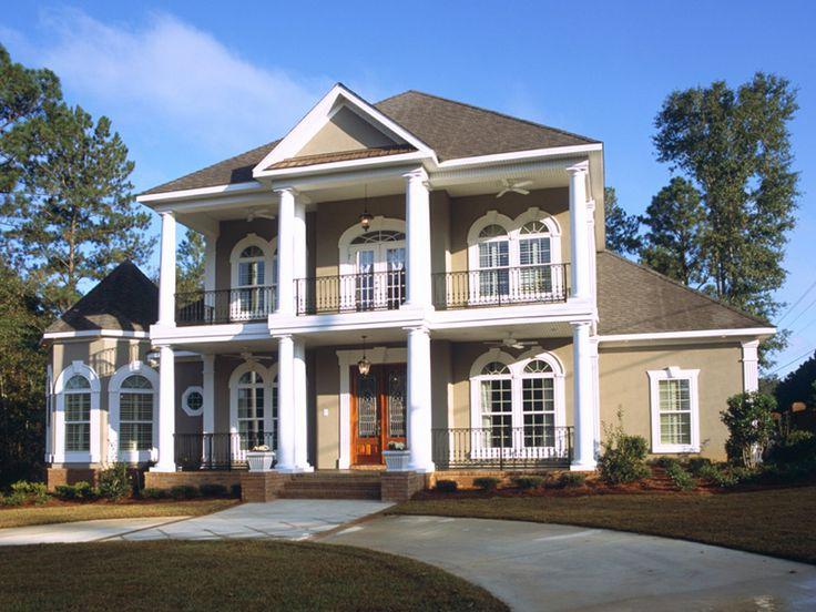 5660900bc5c824c8bc338e735f3adbd7 plantation style houses southern plantation style 44 best house plans images on pinterest,Plantation House Plans With Columns