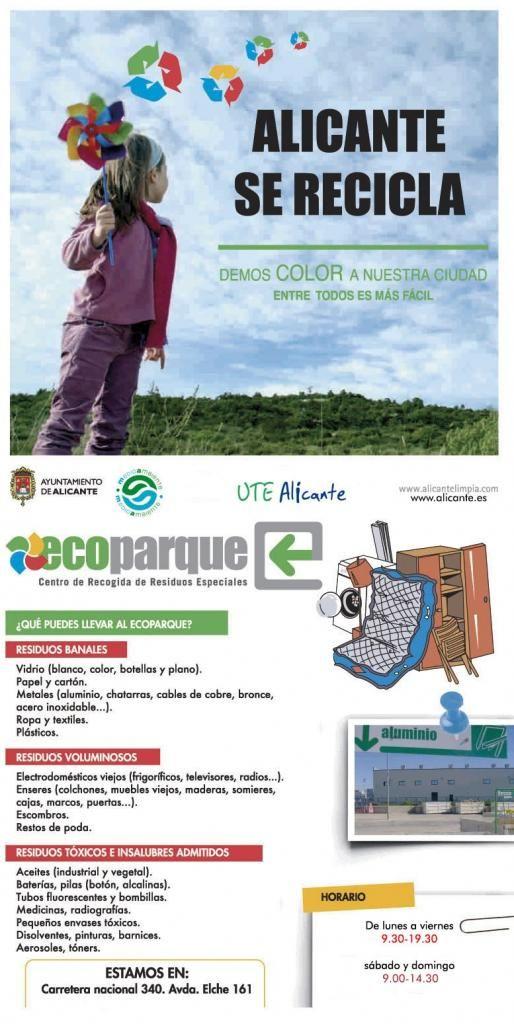 Ecoparque y Ecopuntos | Ayuntamiento de #Alicante #SAICAlicante #MedioAmbiente
