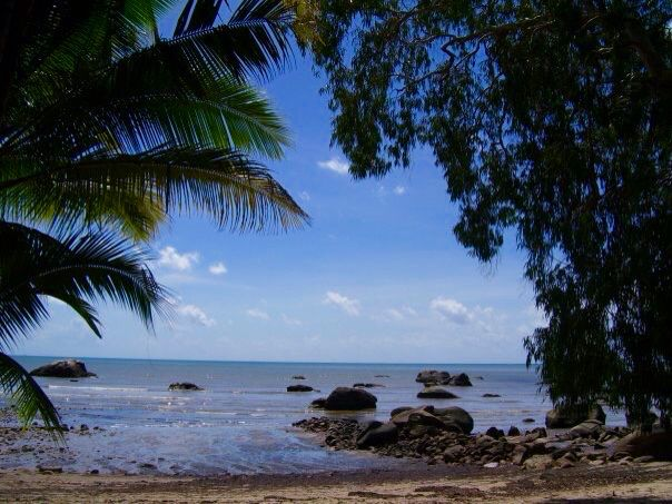 Little beach on the way to Yarrabah