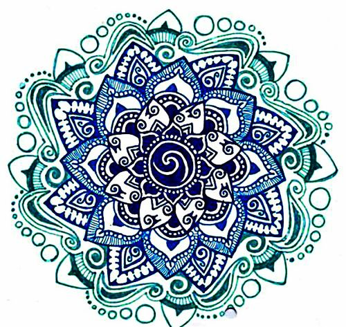 simple mandala drawing tumblr 50133 infobit