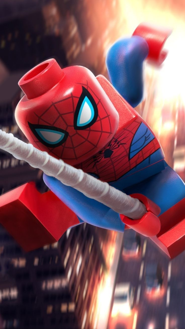 Pin By Fabrizzio Cerff On Spiderman Ps4 Lego Spiderman Lego