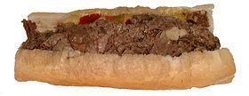 Italian Beef sandwiches - especially at Italian street festivals in Melrose Park.
