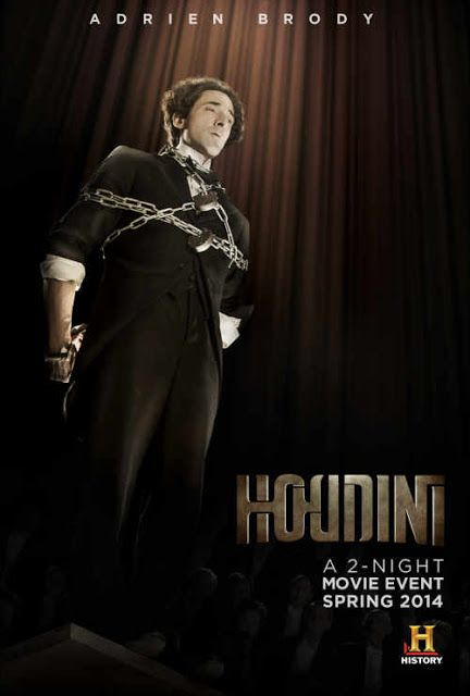 WILD ABOUT HARRY: Unused Houdini miniseries poster art