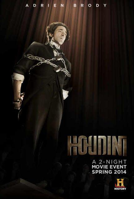 WILD ABOUT HARRY: Unused Houdini miniseries poster art