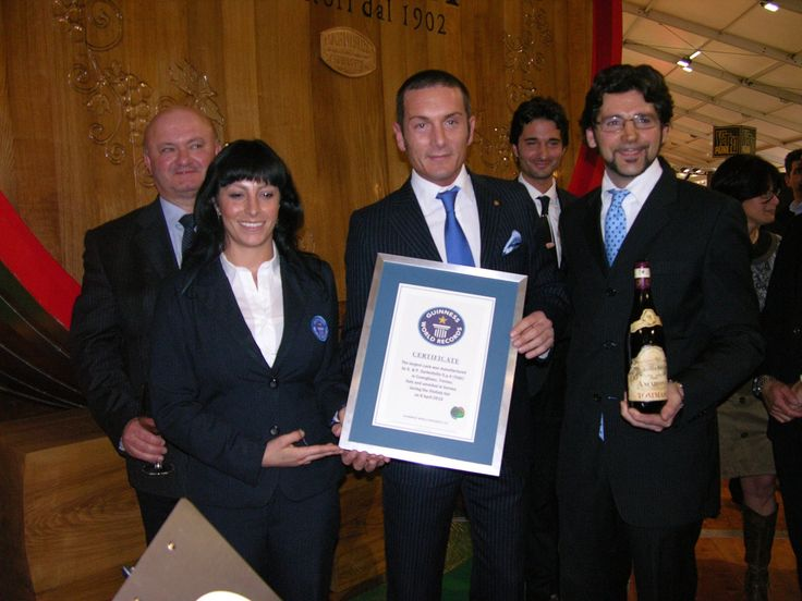 Tommasi Magnifica Oak Cask - Biggest world cask Guiness World Record #GWR #wine www.tommasi.com