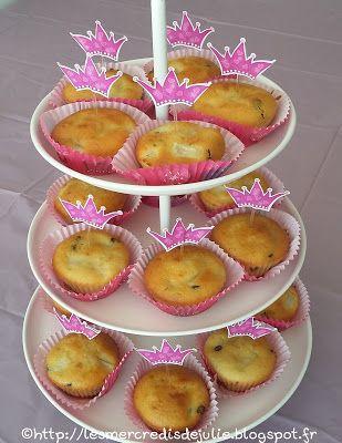 Les Mercredis de Julie : Muffins amande poire chocolat