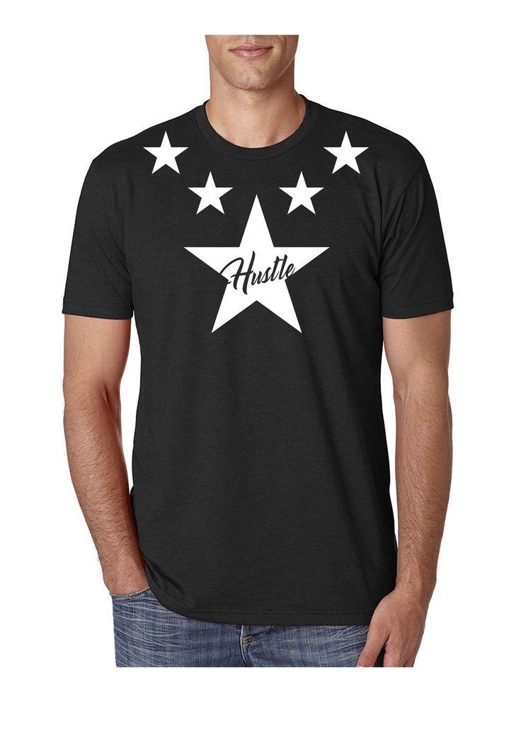 Hustle T-Shirt Black