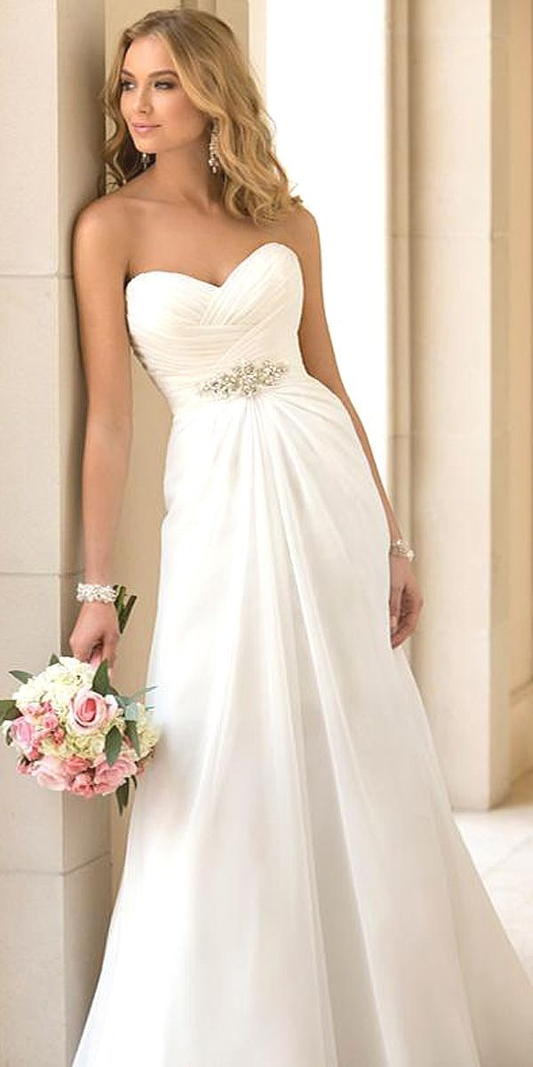 Stunning Wedding Dresses Under $1,000 ❤ See more: http://www.weddingforward.com/cheap-wedding-dresses/ #weddings