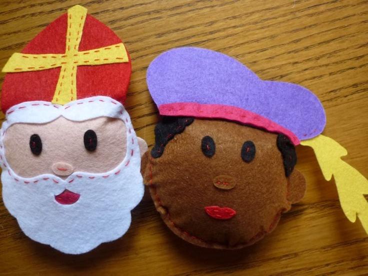 Sint en Piet van vilt