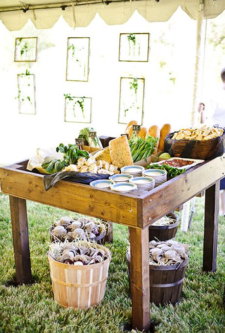 Brides.com: 21 Food Bar Ideas for Your Wedding