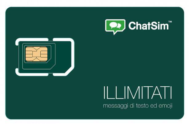 Presentata ChatSim Unlimited con messaggi di testo ed emoji illimitate