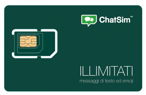Presentata ChatSim Unlimited con messaggi di testo ed emoji illimitate