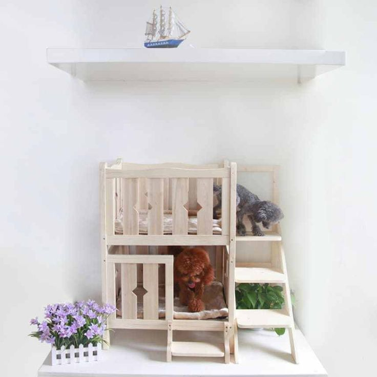 Wooden Cat Crates