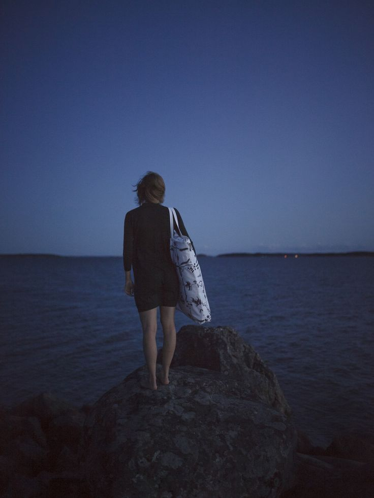 Myrskyn jälkeen (lit. After the Storm) pattern combines hand-drawn chaotic nature elements with square grid structure. All Saana ja Olli products are made from durable European 100% hemp fabric and manufactured transparently in Southwestern Finland. [ Model: Anna   Photography: Unto Rautio ► www.untorautio.com/   Location: Turku, Finland ]