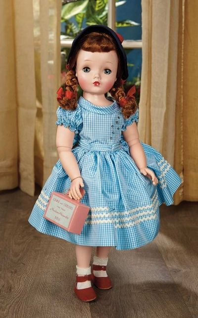 Sanctuary: A Marquis Cataloged Auction of Antique Dolls - March 19, 2016: Rare American Fashionable Child with Fully-Ball-Jointed Body by Alexander