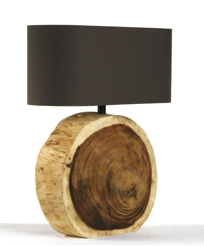 Circular Wood Lamp with different lamp shade Great wrok fro more wood jewelry…
