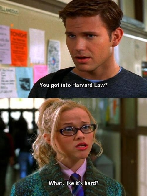 78 best lsat and law school entertainment images on pinterest law community post 25 things legally blonde taught me about college life malvernweather Gallery