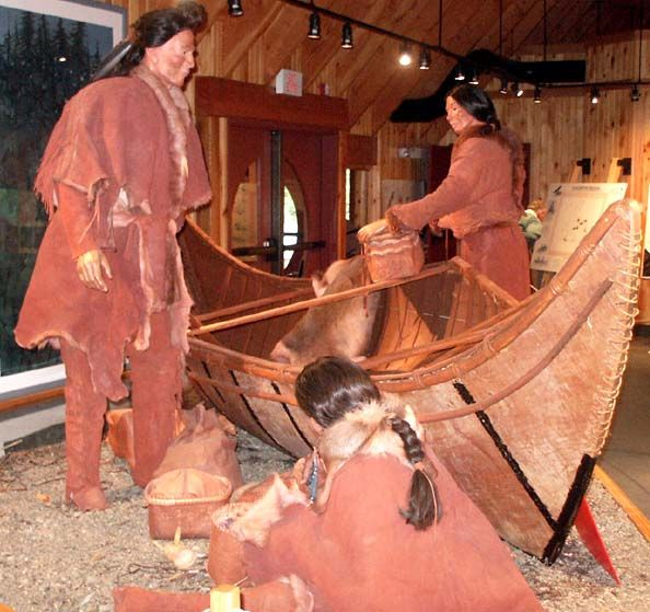 The Beothuk tribe of Newfoundland is extinct. It is represented in museum, historical and archaeological records.
