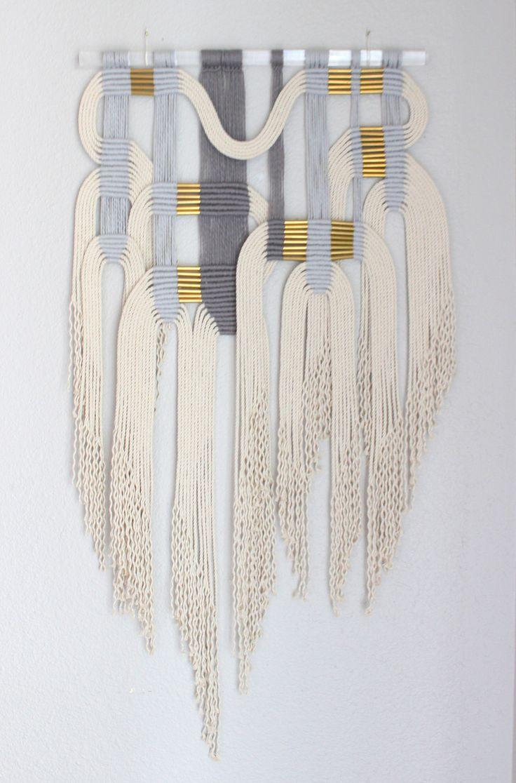 geometrical wall weaving
