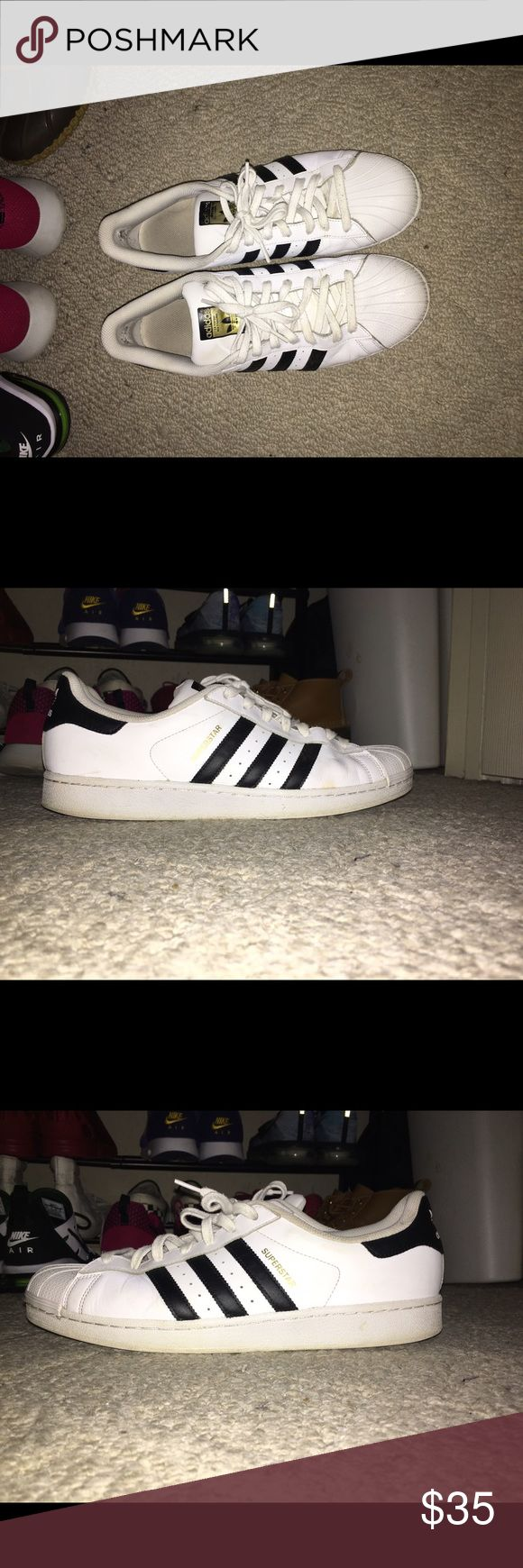 Mens Adidas Superstar Reliable shoe and really great shoe to have Shoes Sneakers