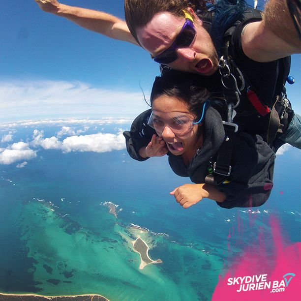 This is a no brainer. Sky diving in Perth at Skydive Jurien Bay, not far from Perth. www.skydivejurienbay.com for more info