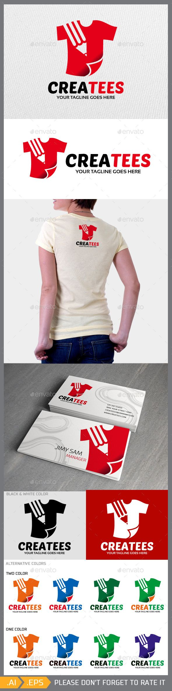 Createes  - Logo Design Template Vector #logotype Download it here: http://graphicriver.net/item/createes-logo-template/10245356?s_rank=1410?ref=nexion