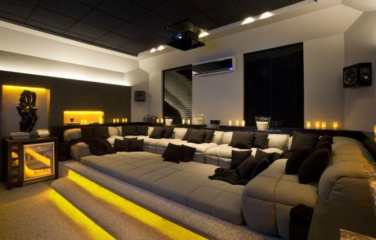 Projetos de home theater unem conforto e automatização - fotos em Jornal Hoje - g1