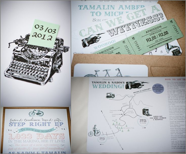 Some of our wedding stationery