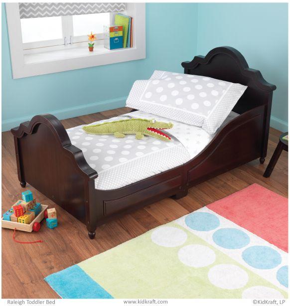 KidKraft Toddler Spots And Dots Gray Bedding Set