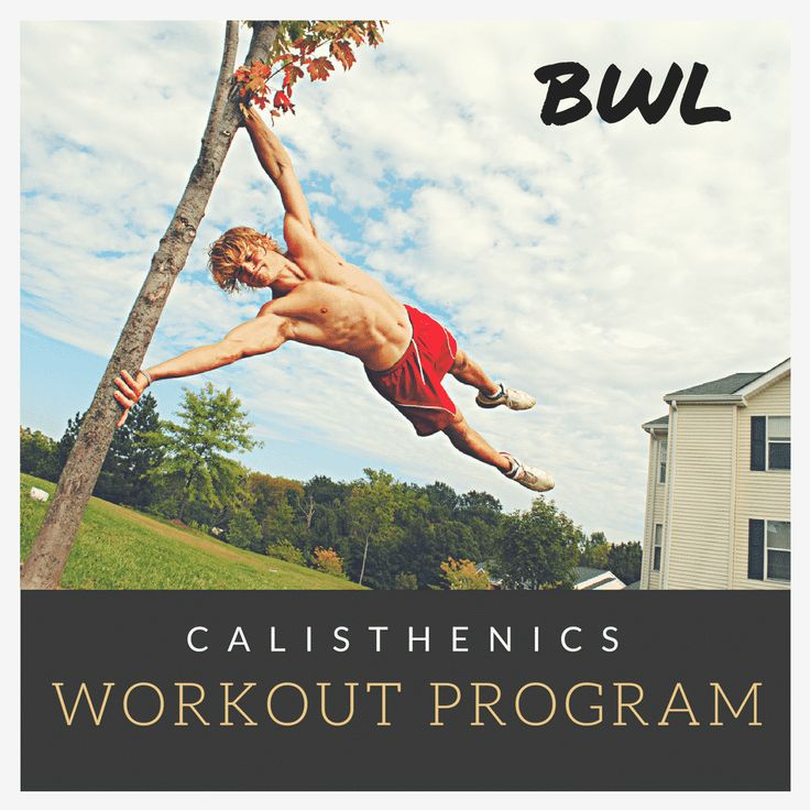 Our guide to YOUR best bodyweight workout program!