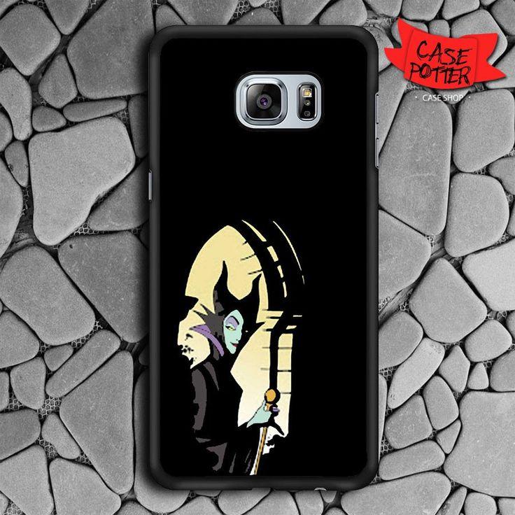 Maleficent In Castle Samsung Galaxy S6 Edge Plus Black Case