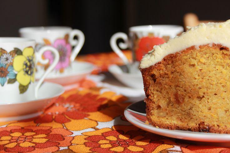recette de gâteau à la carotte ou carrot cake