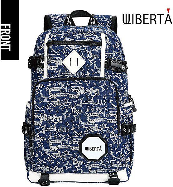Amazon.co.jp: (リベルタ) リュックサック バックパック 大容量 メンズ レディース 青色 UKブルー: シューズ&バッグ