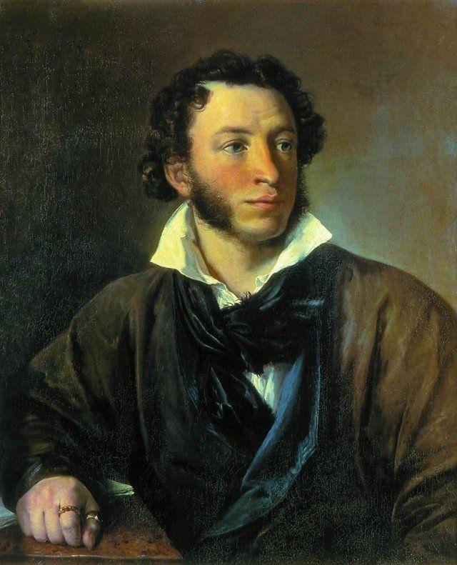 А это первый портрет, заказанный в 1827 году уже классику русской портретной живописи - Василию Тропинину.