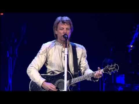 ▶ Bon Jovi Cleavland 03/10/2013 Someday I'll be Saturday Night - YouTube