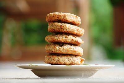Kifli és levendula: Narancsos-mandulás keksz