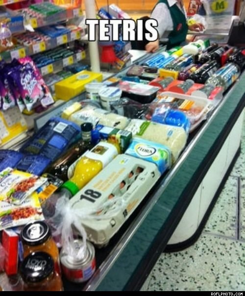 Supermarket Tetris