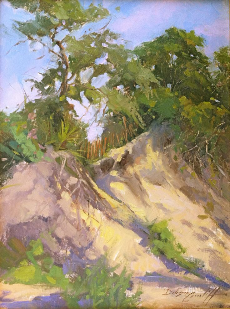 """Land's End"" 16"" x 12"" Available End of Indian Pass Beach in Florida's Forgotten Coast"