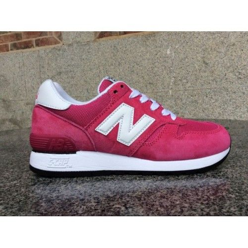 2014 New Balance 670 Rose Red White Womens Online £54.89