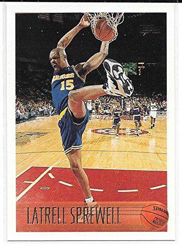 Latrell Sprewell 1996-97 Topps Golden State Warriors Card 183 ** This is an Amazon Affiliate link. More info could be found at the image url.