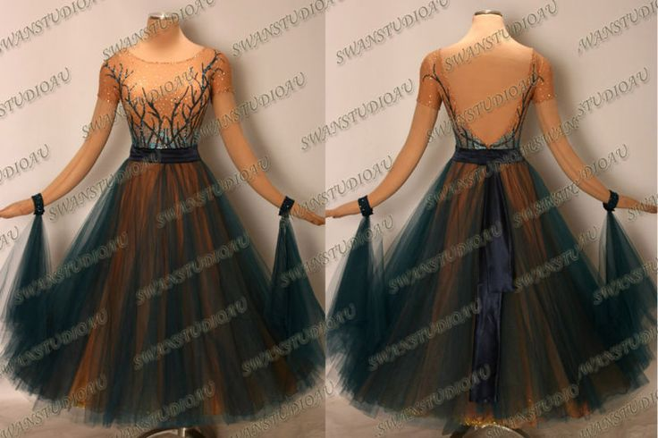 BALLROOM .STANDARD. SMOOTH DANCE COMPETITION DRESS SIZE S M L WB3061