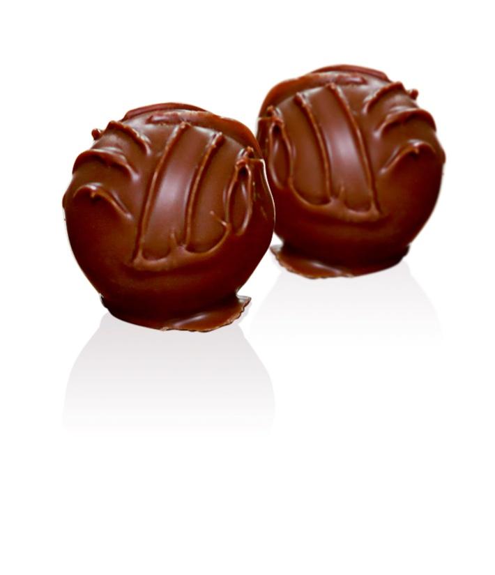 Milk Chocolate Truffle: A delicate hand finished milk Chocolate truffle enrobed with rich milk Chocolate.