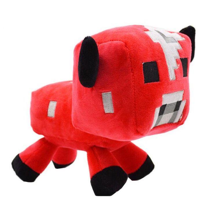 Minecraft Plush 1PCS Minecraft Cat Sheep Wolf Character Plush Soft Toy Stuffed Animal Doll Brinquedos Gift For Kids Children