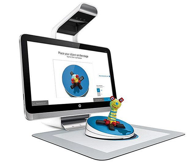 HP Sprout's New 3D Capture Stage Introduces User-Friendly