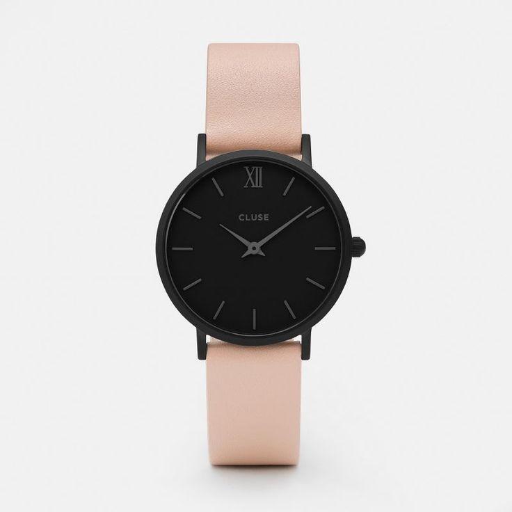CLUSE Minuit Black Black/Nude CL30027