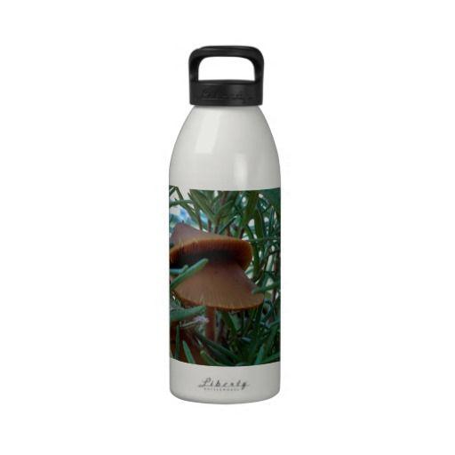 Mushroom Forest Reusable Water Bottles