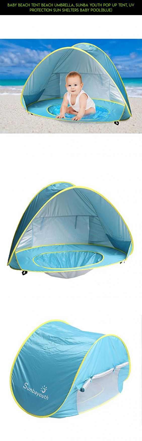 Baby Beach Tent Beach Umbrella, Sunba Youth Pop Up Tent, UV Protection Sun Shelters Baby Pool(Blue) #gadgets #fpv #kit #racing #products #baby #shopping #plans #technology #drone #parts #pools #tech #camera