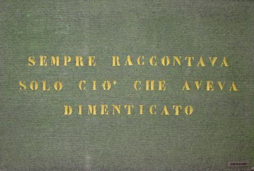 Vincenzo Agnetti - Galleria - Studio Giangaleazzo Visconti