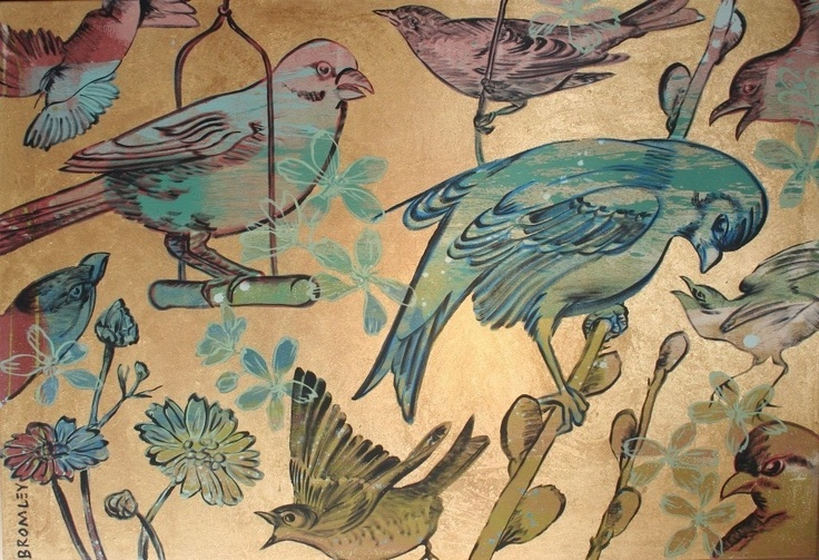 Gold Birds - David Bromley